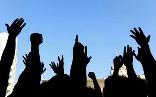 राशन दुकानदारों का बुलडाणा जिले में धरना प्रदर्शन