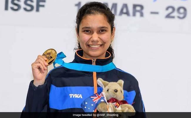 निशानेबाजी: मुस्कान के स्वर्ण पदक से भारत ने पदक तालिका में चीन को दी पटखनी…