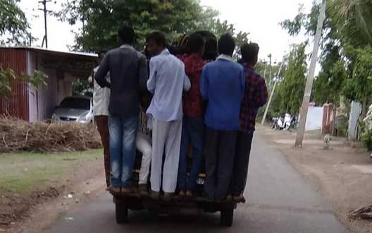 जानेफल में अवैध यातायात चरम पर