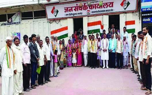 जयरामगड ग्रापं पर कांग्रेस का कब्जा