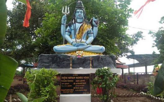 भगवान शंकर मूर्ति की स्थापना