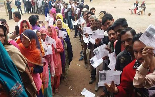वाशिम जिले के तीन विधानसभा क्षेत्र में  61.99 प्रतिशत मतदान