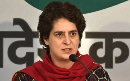 Sending ED to Patel's house amid Corona epidemic reflects government's priorities: Priyanka Gandhi