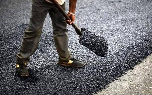 सड़क निर्माण को लेकर जनता में असंतोष