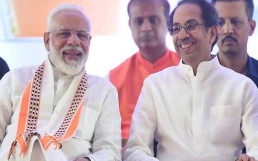 """""""श्रीराम जन्मभूमि तीर्थ क्षेत्र"""" गठन पर उद्धव ठाकरे ने नरेंद्र मोदी को दी बधाई"""