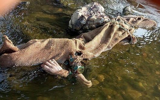 लापता युवक की लाश पैनगंगा नदी में मिली