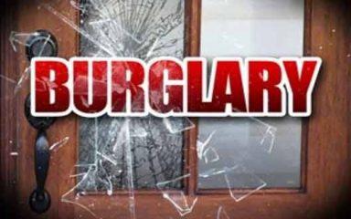 Burglary, theft