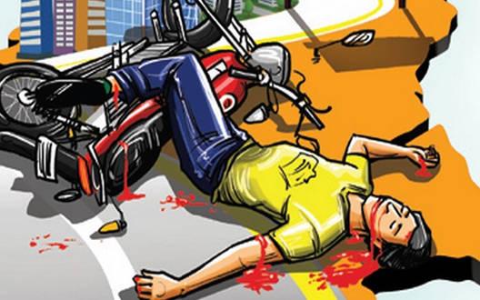 युवक को उड़ाकर भागे कार सवार, जीपीओ चौक पर हादसा