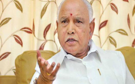 Karnataka Chief Minister Yeddurappa