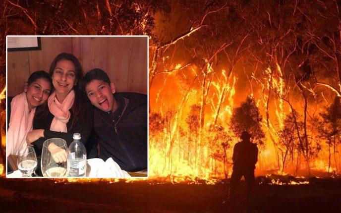 ऑस्ट्रलिया आग : जूही के बेटे ने अपनी पॉकेट मनी दानकर की प्रभावित लोगों की मदद