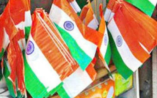 प्लास्टिक से बने राष्ट्रध्वज की बक्रिी व उपयोग पर सख्त मनाई