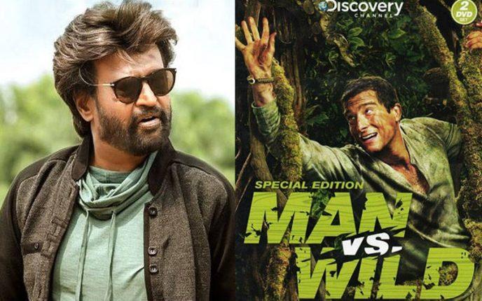 """बेयर ग्रिल्स के शो """"Man vs Wild"""" में जल्द ही नजर आएंगे रजनीकांत"""
