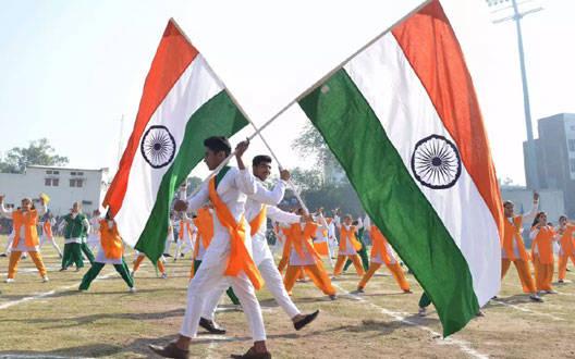 गणतंत्र दिवस की पूर्व तैयारी का लिया जायजा