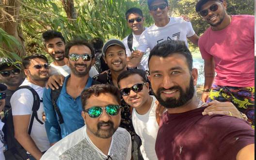 हार से निराश नहीं टीम इंडिया, टेस्ट सीरीज से पहले सैर-सपाटे पर निकली
