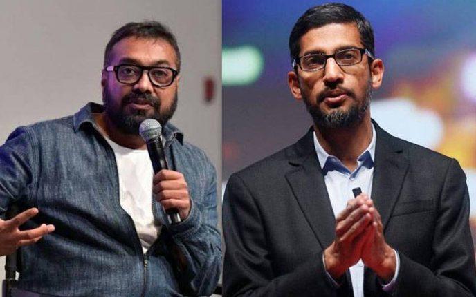 जानें क्यों, अनुराग कश्यप ने कि सुंदर पिचाई से गूगल एम्प्लोयी की शिकायत