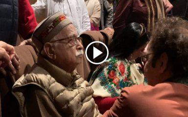 """लाल कृष्ण आडवाणी कश्मीरी पंडितों पर बनी फिल्म """"शिकारा"""" देखकर रो पड़े"""