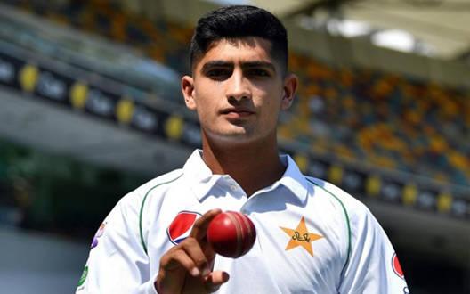 16 साल के नसीम शाह ने रचा इतिहास,  हैट्रिक लगाने वाले सबसे युवा गेंदबाज