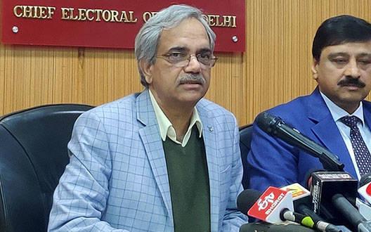 चुनाव आयोग का AAP को जवाब, कहा – दिल्ली में 62.59 प्रतिशत वोटिंग