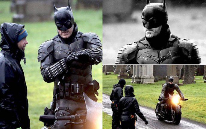 बैटमैन : मैट रीव्स की फिल्म से बैटसूट की तस्वीरें हुई वायरल