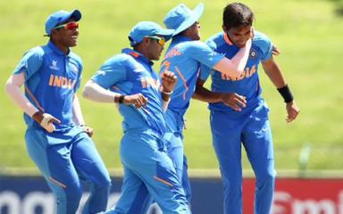 Under-19 World Cup: भारत ने पाकिस्तान का एक विकेट झटका