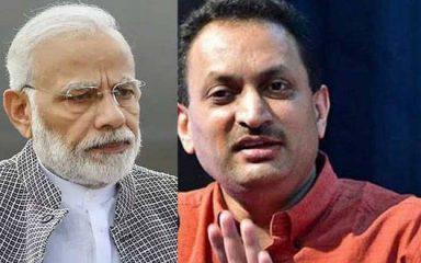 महात्मा गाँधी पर हेगड़े के बयान से बीजेपी बैकफुट पर, प्रधानमंत्री नाराज
