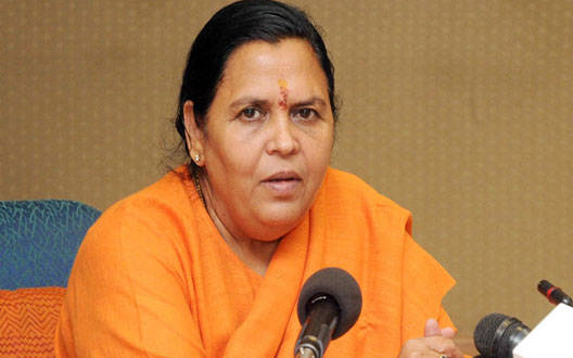 Only after Modi leaves from Bhoomi Poojan program, I will reach Ramlala to visit: Uma Bharti