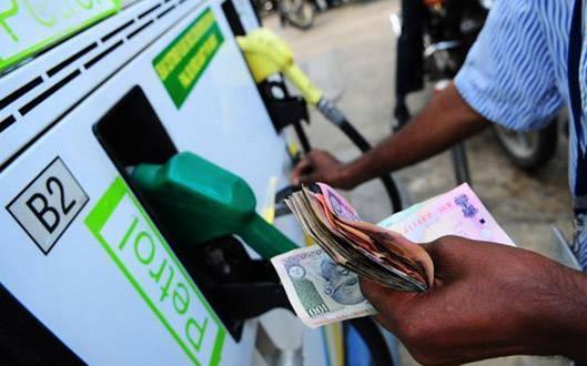 Petrol cost 59 paisa per liter and diesel 58 paisa per liter