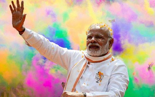 प्रधानमंत्री ने देशवासियों को होली की बधाई दी