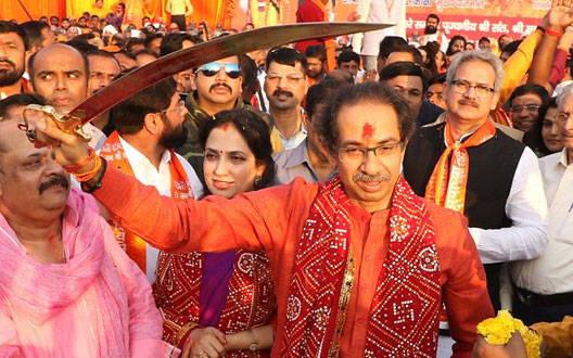 संतो के विरोध के बावजूद  मुख्यमंत्री उद्धव ठाकरे अयोध्या रवाना