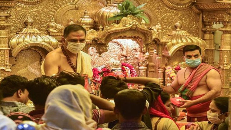 Religious places including temples will open in Maharashtra from Monday