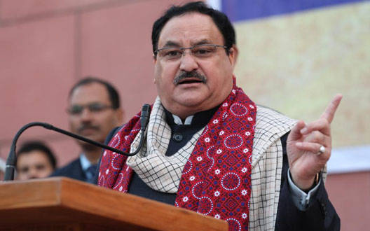 Rajasthan is eclipsed nowadays: Nadda targets Congress