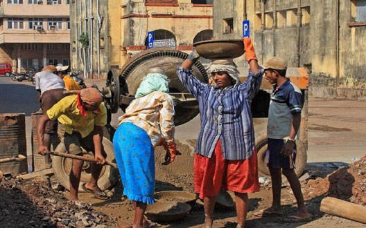 Water works started in 15 sites of water supply, 600 laborers getting work