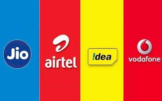 Jio, Airtel और Vodafone-idea के 3GB डाटा वाले रिचार्ज प्लान