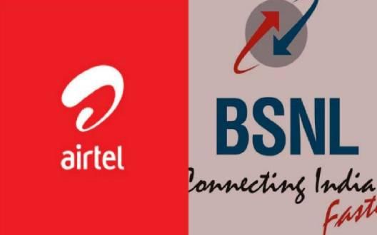 एयरटेल और बीएसएनएल का बड़ा निर्णय, ग्राहकों को देंगे फ्री बैलेंस