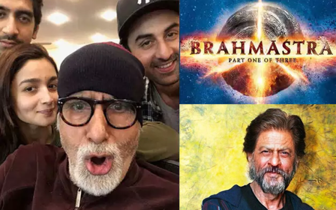 ब्रह्मास्त्र में शाहरुख की एंट्री, रुकी  फिल्म की शूटिंग