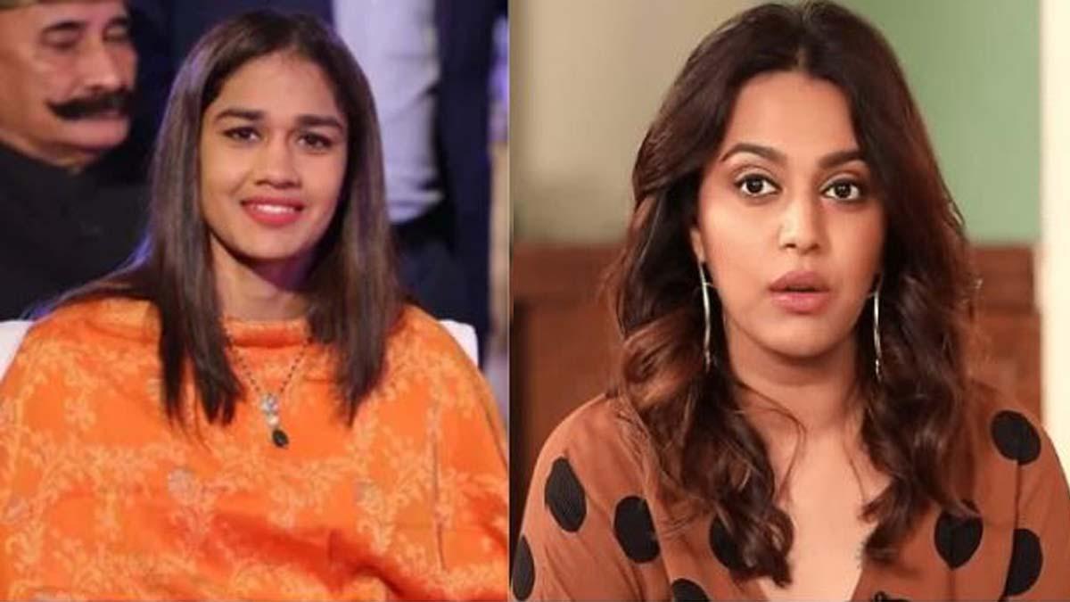 Babita Phohgat answer to Swara Bhaskar why jamati front for ...