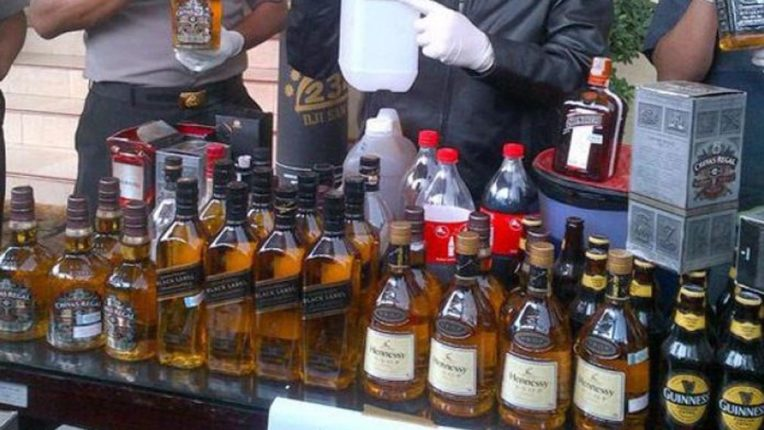 Excise Department's action, indigenous foreign liquor worth lakhs seized