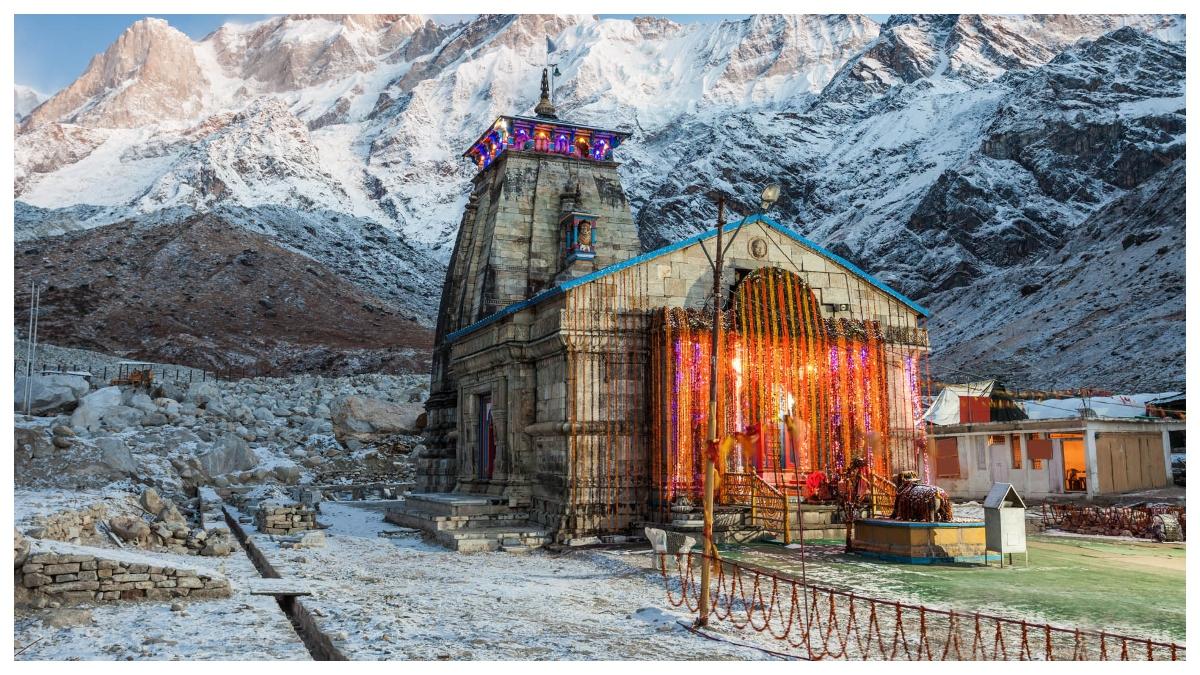 The doors of Kedarnath Dham opened