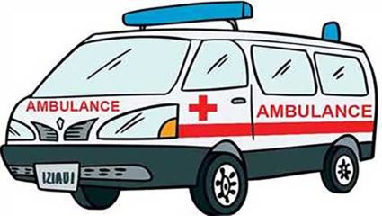 Candidate reached ambulance to withdraw nomination