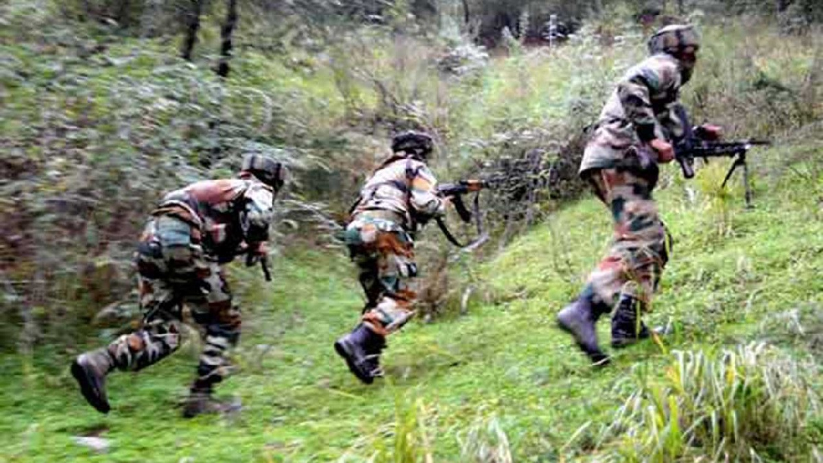 Pakistani army fired near the Line of Control in Poonch