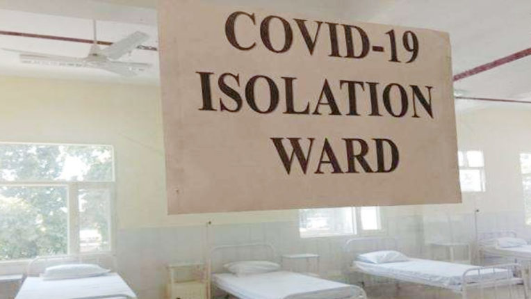 62 suspected patients admitted to ISOLATION, 40 came in contact with youth of Sindhi Camp