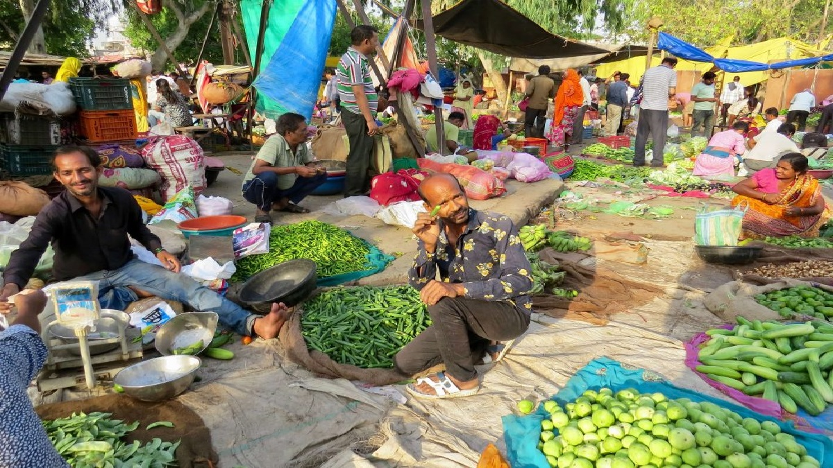 Old City Vegetable Market Transferred