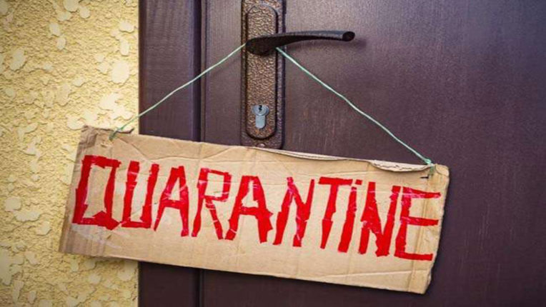 1,424 quarantine administration not paying heed