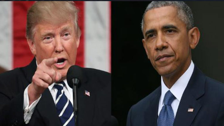America Elections: Trump's attack on Obama in support of Biden, said, 'It was because of Obama's failures that people sent me to White House'