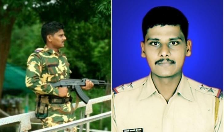 नक्सली हमले में एक पुलिस अधिकारी और एक जवान शहीद, ३ घायल