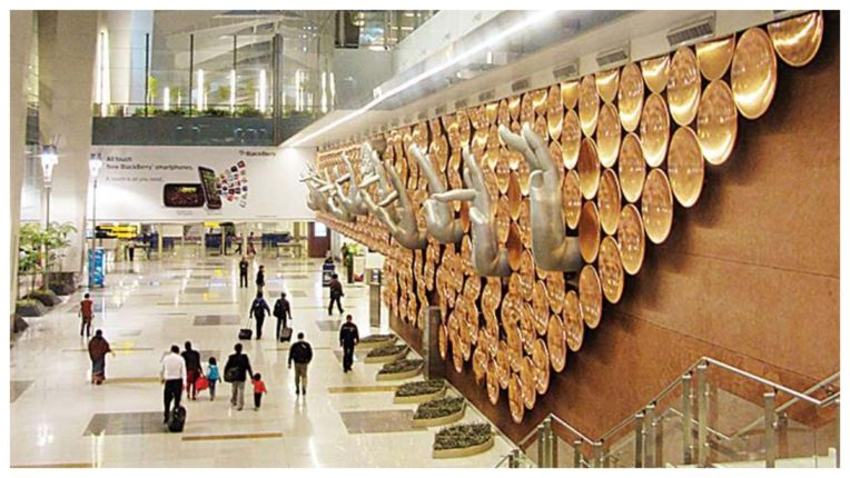 Delhi airport: sacked woman worker accused of sexual harassment, two workers arrested