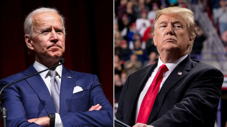 Trump, Biden commented on injured officers and demonstrations