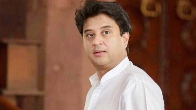 Jyotiraditya Scindia attacked Congress, said- 'No merit and ability value in party'