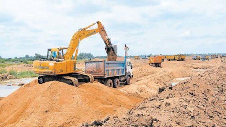 Violation of PESA law, hundreds of brass sand stolen