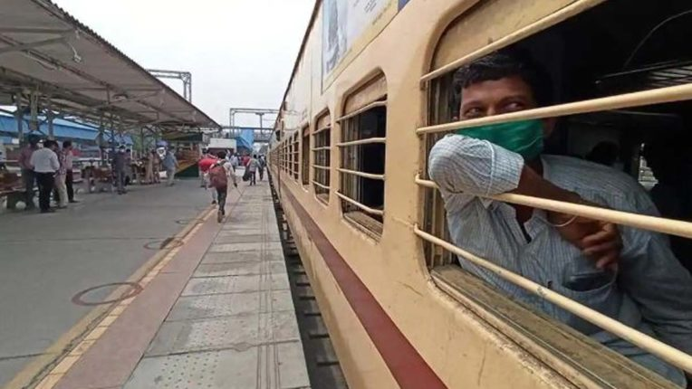 Shramik Express leaves for Bihar with workers in Akola and Washim district